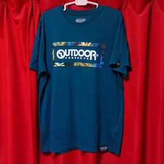 アウトドアプロダクツ(OUTDOOR PRODUCTS)の大きいサイズ OUTDOOR Tシャツ 男女兼用 美品❣(Tシャツ(半袖/袖なし))