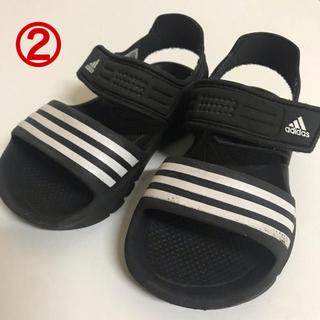 アディダス(adidas)の【adidas】14センチ サンダル(サンダル)
