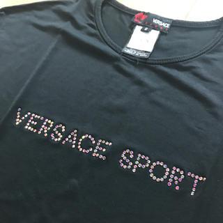 ヴェルサーチ(VERSACE)のVERSACE ヴェルサーチ Tシャツ レディース(Tシャツ(半袖/袖なし))