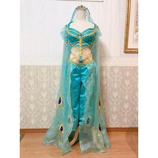 ディズニー(Disney)の❁Dハロ❁実写版アラジン❁ジャスミン ピーコックドレス風衣装デラックス版❁新品(その他ドレス)