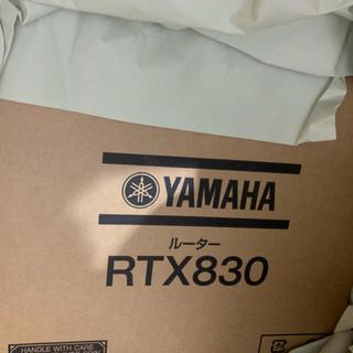 ヤマハ(ヤマハ)のrtx830  YAMAHA ルーター 1台 ヤマハ(PC周辺機器)