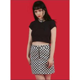 ユニフ(UNIF)のUNIF apex skirt(ミニスカート)