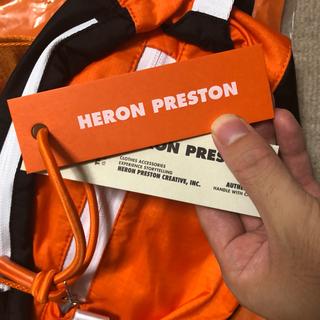 オフホワイト(OFF-WHITE)のHERON PRESTON ショルダーバック オレンジ  最終値下げ!(ウエストポーチ)