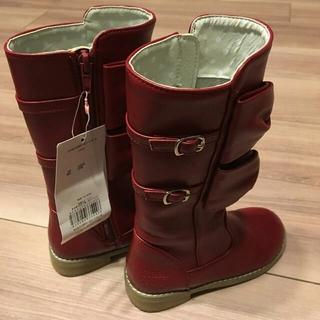 シャーリーテンプル(Shirley Temple)のシャーリーテンプルshirleytemple 新品ロングブーツ タグつき17cm(ブーツ)
