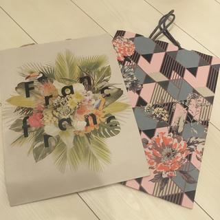 フランフラン(Francfranc)のショッパー 5枚セット 紙袋+ビニールタイプ(ショップ袋)