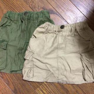 ブリーズ(BREEZE)のブリーズ 双子 スカート 色違い 80(スカート)