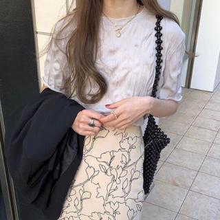 エディットフォールル(EDIT.FOR LULU)のkushu tee / gray(Tシャツ/カットソー(半袖/袖なし))