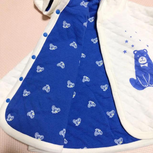 BREEZE(ブリーズ)のBREEZE ポンチョ キッズ/ベビー/マタニティのベビー服(~85cm)(ジャケット/コート)の商品写真