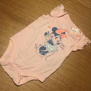 ベビーギャップ(babyGAP)のミニーちゃん ロンパース 70(ロンパース)