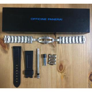 オフィチーネパネライ(OFFICINE PANERAI)のパネライ 純正ステンレスベルト 40mm用(金属ベルト)