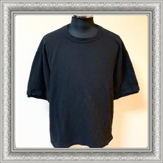 マルニ(Marni)のMARNI マルニ メンズ Tシャツ カットソー スエット 切り替え 黒 46(Tシャツ/カットソー(半袖/袖なし))