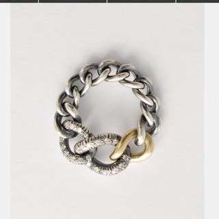 hum  k18GG silver ダイヤ リング(リング(指輪))