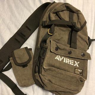 アヴィレックス(AVIREX)のAVIREX ワンショルダー 肩がけ バッグ アウトドアなどにも(ボディーバッグ)