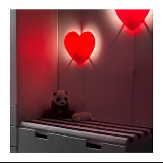 イケア(IKEA)のIKEA ハートランプ 間接照明 ベッドライト(フロアスタンド)
