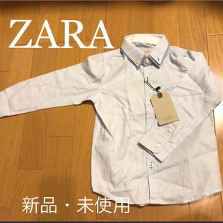 ザラ(ZARA)のZARA kids ザラ【新品・未使用】シャツ size110cm(ブラウス)