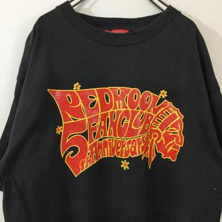 レッドムーン(REDMOON)の【レア】 REDMOON レッドムーン 半袖 Tシャツ 5th 黒グレー系 古着(Tシャツ/カットソー(半袖/袖なし))