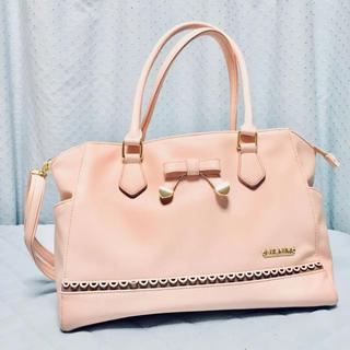 リズリサ(LIZ LISA)の【LIZ LISA】2way ピンク バッグ(ハンドバッグ)