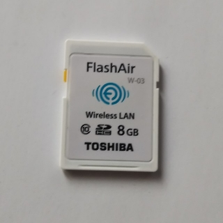 トウシバ(東芝)のFlashAir  8GB(その他)