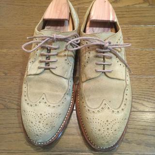 ユナイテッドアローズ(UNITED ARROWS)のスウェード革靴/JALAN SRIWIJAYA(24.5cm)(ドレス/ビジネス)