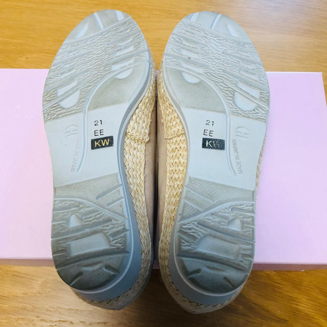 DIANA(ダイアナ)のDIANA WELLFIT クッション内蔵スリッポン 21.0㎝ レディースの靴/シューズ(スリッポン/モカシン)の商品写真
