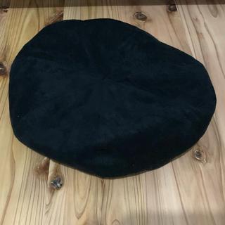 ブラウニー(BROWNY)のBROWNY スエード ベレー帽(ハンチング/ベレー帽)