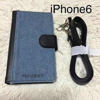 マウジー(moussy)のmoussy iPhone6ケース(モバイルケース/カバー)