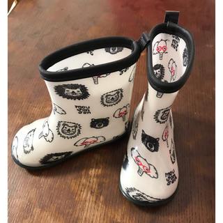 ムージョンジョン(mou jon jon)のmou jon jon ムージョンジョン 長靴 レインシューズ 16cm(長靴/レインシューズ)