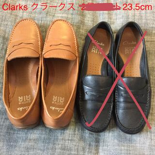 クラークス(Clarks)の  Clarks  クラークス ローファー  23.5cm  キャメル色(ローファー/革靴)