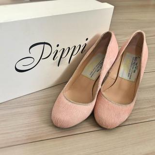 ピッピ(Pippi)のPippi(ピッピ)ラウンドトゥパンプス(ピンク)(ハイヒール/パンプス)