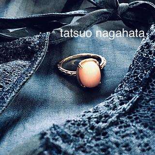 アッシュペーフランス(H.P.FRANCE)のtatsuo nagahata コーラルリング 珊瑚(リング(指輪))