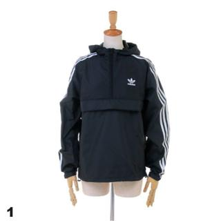 アディダス(adidas)のアディダスオリジナルス ハーフジップジャケット Mサイズ(ナイロンジャケット)