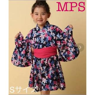 エムピーエス(MPS)のMPS 浴衣ワンピース 女の子 ライトオン(甚平/浴衣)