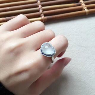 339 k18金リング ゴールド ハット 翡翠リング ダイヤモンドリング 指輪 (リング(指輪))