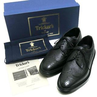 トリッカーズ(Trickers)の新品 Tricker's ロングウィングチップ レザーシューズ (ドレス/ビジネス)
