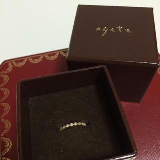 アガット(agete)のnika様 agete ピンキーリング(リング(指輪))