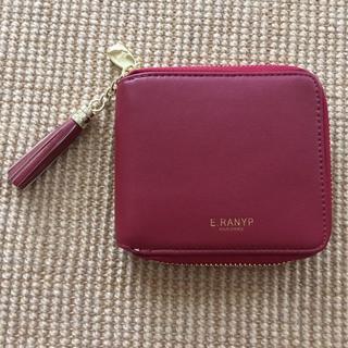 最終値下げ ミニ財布 小さい財布 二つ折り 赤 ウォレット(財布)
