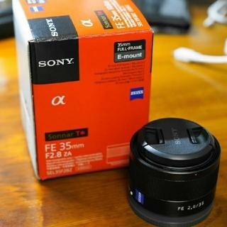 ソニー(SONY)のSONY SEL35F28Z Sonnar T* FE 35mm F2.8 ZA(レンズ(単焦点))