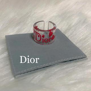 ディオール(Dior)のDior クリアリング 13号(リング(指輪))