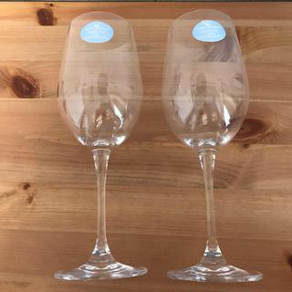 ウェッジウッド(WEDGWOOD)の【美品】WEDGWOODワイングラス ペア★Mondaviコラボ(グラス/カップ)