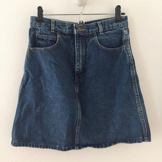 カルバンクライン(Calvin Klein)の[used]Calvin Klein デニムスカート(ミニスカート)