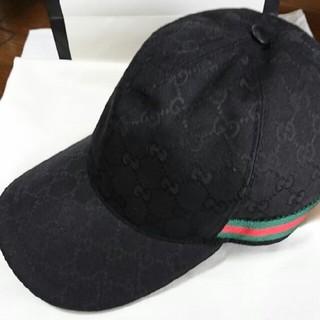 グッチ(Gucci)のGUCCI オリジナルGG キャンパス ベースボールキャップ帽子サイズ M(キャップ)