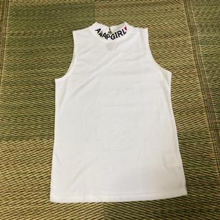 アナップキッズ(ANAP Kids)のANAPKIDS アナップキッズ ノースリーブシャツ Mサイズ 未使用(Tシャツ/カットソー)