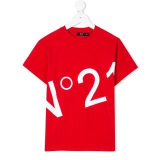 ヌメロヴェントゥーノ(N°21)のNº21 Kids ロゴ Tシャツ No21 キッズサイズ ヌメロヴェントゥーノ(Tシャツ(半袖/袖なし))