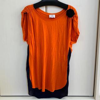 ランバンオンブルー(LANVIN en Bleu)のLANVIN en Blue カットソー(Tシャツ(半袖/袖なし))