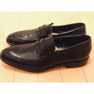 コールハーン(Cole Haan)の新品未使用 コールハーン ワーナー グランド ローファー 27cm 黒(ドレス/ビジネス)