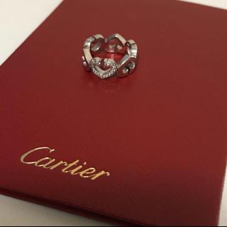 カルティエ(Cartier)のカルティエ♡Cハート ダイヤリング(リング(指輪))