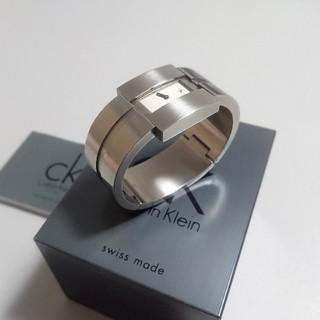 シーケーカルバンクライン(ck Calvin Klein)のck カルバンクライン ディスクレイション レディース バングルウォッチ(腕時計)