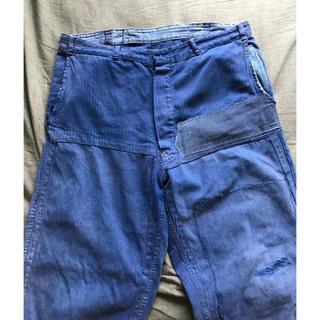 マルタンマルジェラ(Maison Martin Margiela)の50s French vintage work pants ヴィンテージ 古着(ワークパンツ/カーゴパンツ)