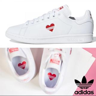 アディダス(adidas)の新品 大人気!完売品 限定品 adidas スタンスミス バレンタインハート(スニーカー)