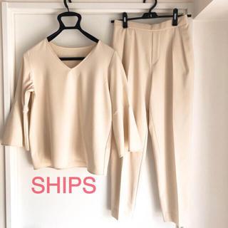 シップス(SHIPS)のSHIPS ブラウス パンツ セットアップ (セット/コーデ)